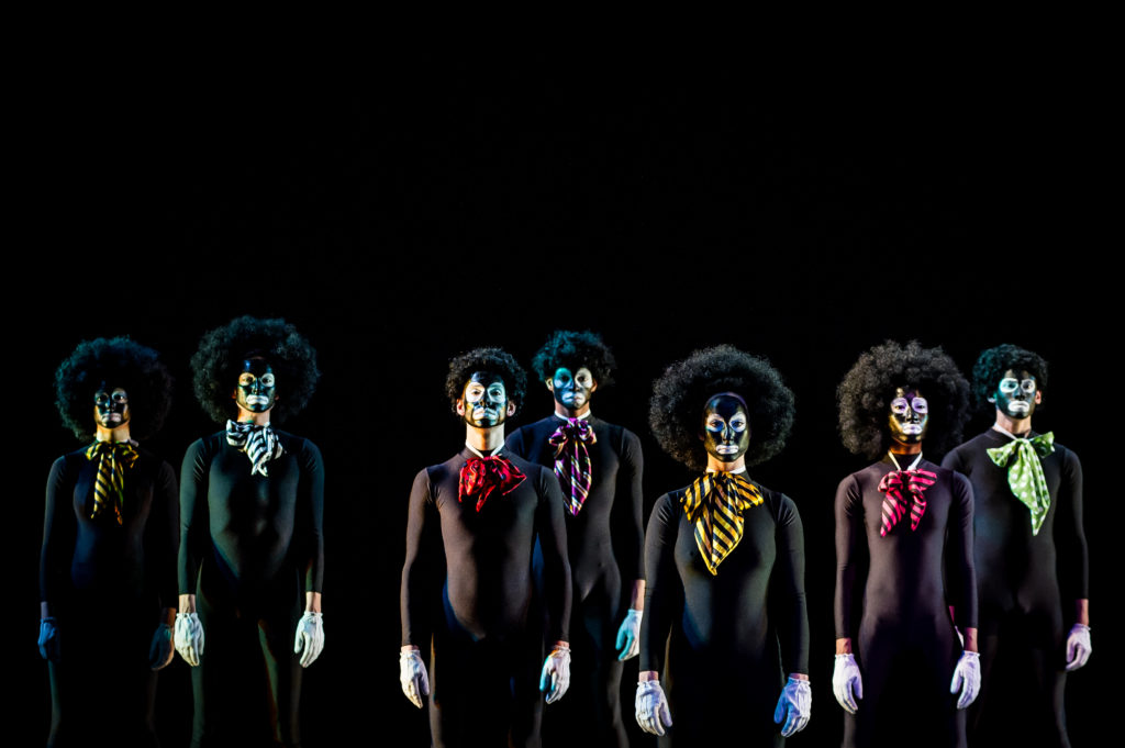 Spectrum Dance Theater in The Minstrel Show Photo by Nate Watters
