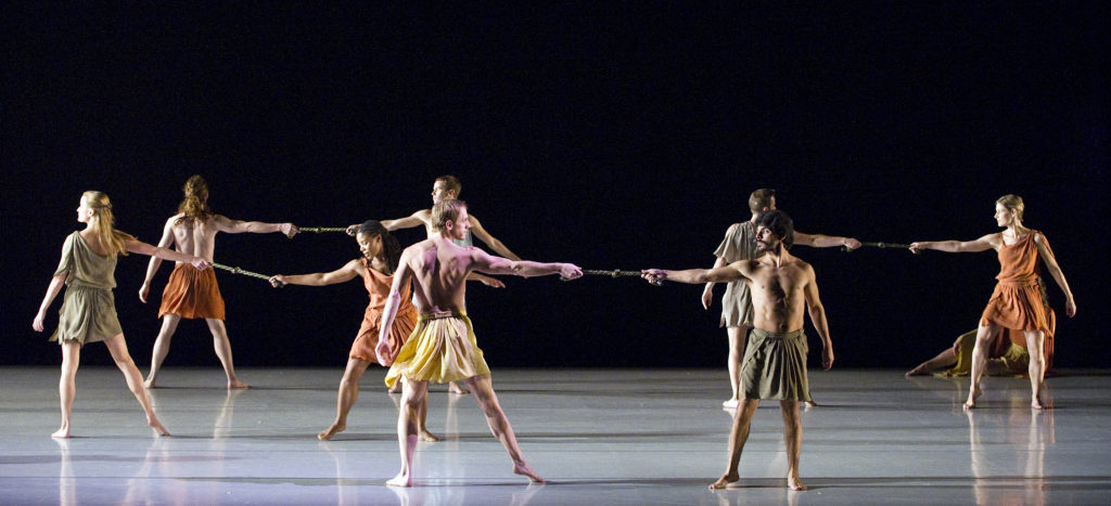 Mark Morris Dance Group in Socrates Photo by Gene Schiavone