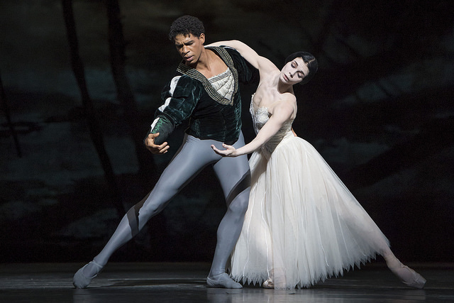 The Royal Ballet: Giselle. Natalia Osipova as Giselle and Carlos Acosta as Albrecht ©ROH/Bill Cooper, 2014