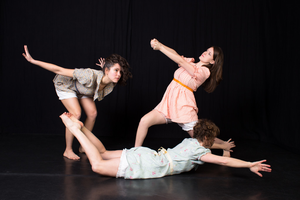 Sarah Seder, Lilah Steece, and Amy Weaver of Sapience Dance Collective