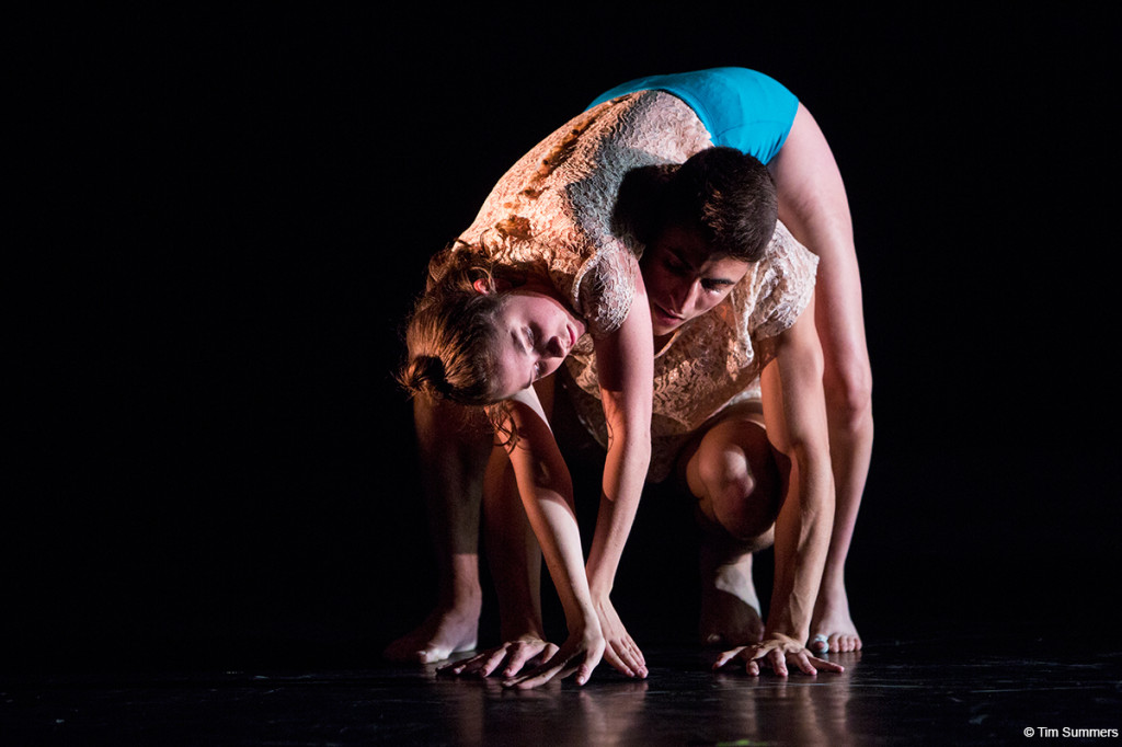 Strictly Seattle professional track dancers in Zoe Scofield's eight.2 Photo by Tim Summers