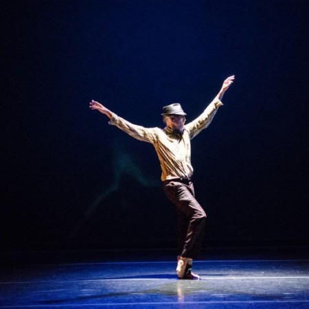 Wade Madsen performs his solo Federico Photo by Colleen Dishy