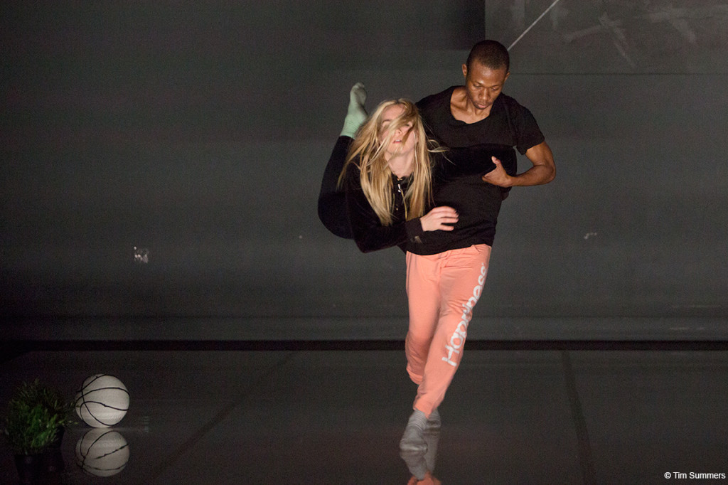 Kate Wallich and Waldean Nelson in Splurge Land Photo by Tim Summers