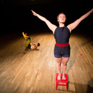 Performer Lindsyanne Owen and Photo by Tim Summers.