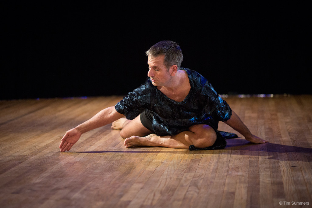 Performer Mark Haim. Photo by Tim Summers.