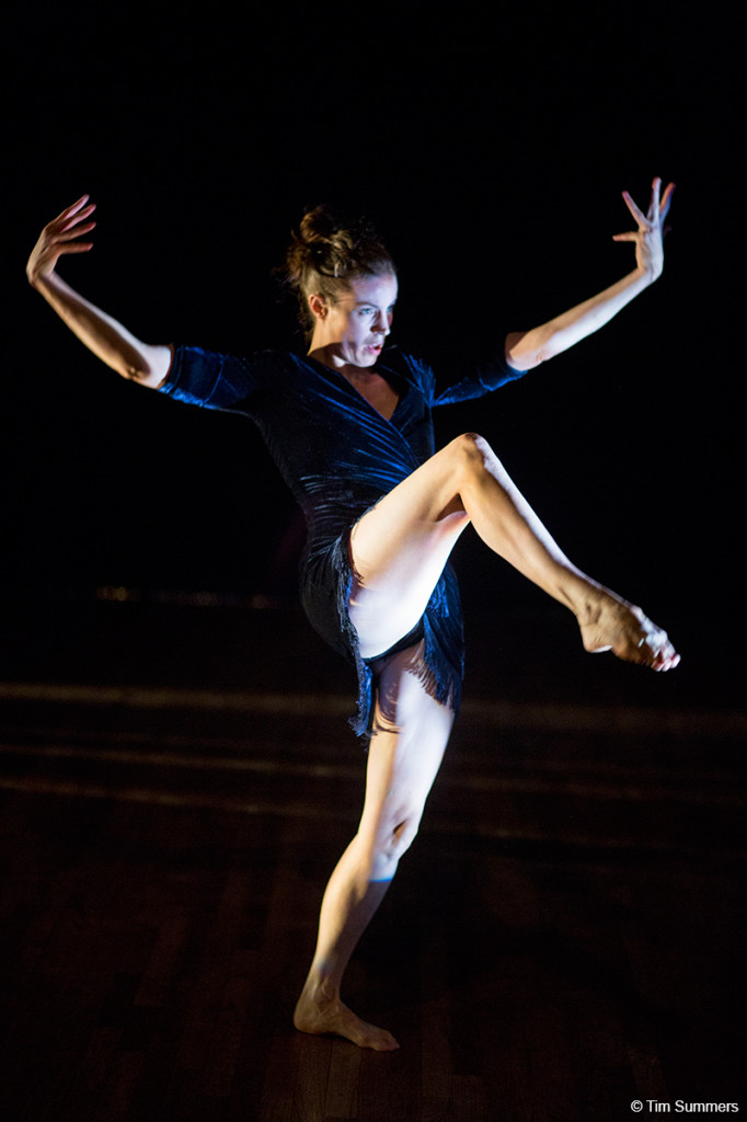 Performer Corrie Befort. Photo by Tim Summers.