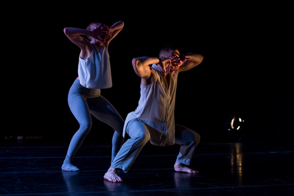 Alicia Pugh and Daniel Costa in Daniel Costa's Interposition. Photo by Jazzy Photo.